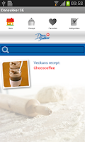 Screenshot of Dansukker - Det söta köket