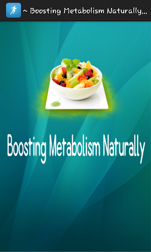 Boosting Metabolism Naturally
