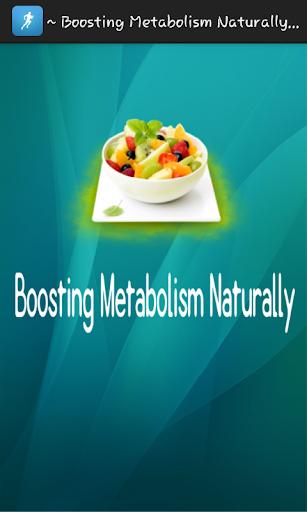 Boosting Metabolism Naturally