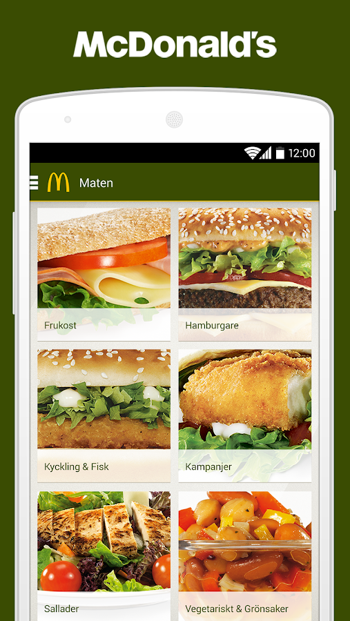 McDonald's Sverige - screenshot
