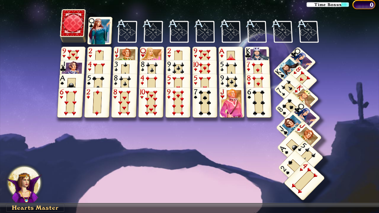 Hardwood Solitaire IV (Free)- screenshot