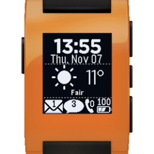 Glance for Pebble- screenshot thumbnail