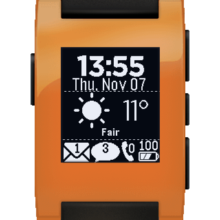 Glance for Pebble- screenshot