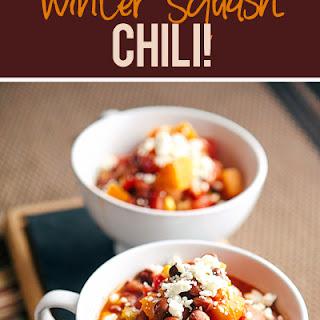 Slow Cooker Winter Squash Chili