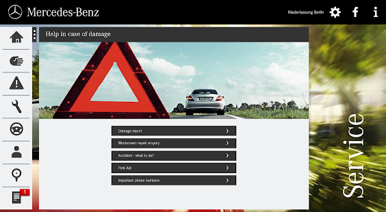 Mercedes-Benz Service - screenshot thumbnail