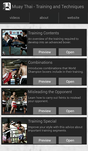 Muay Thai Training Technique