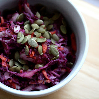 Beet and Red Cabbage Salad.