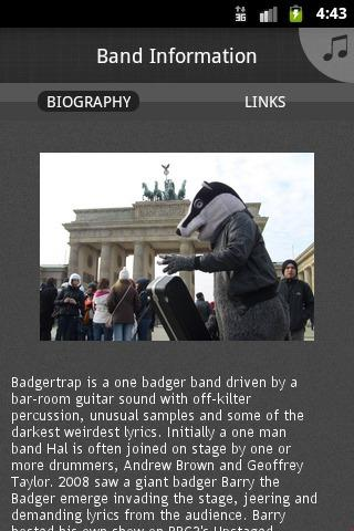 BADgertRAP - screenshot