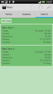 Weight Loss Tracker- screenshot thumbnail