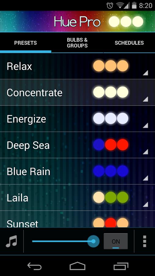 Hue Pro - screenshot