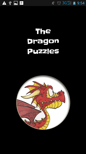 The Dragon Puzzles for Kids