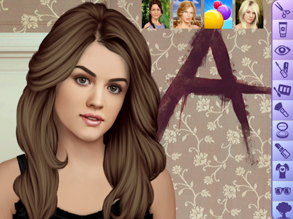 Lucy Hale Make Up Game - screenshot thumbnail