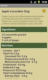 Juice Diet Recipes Screenshot 2