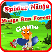 Spider Ninja Manga Run Forest