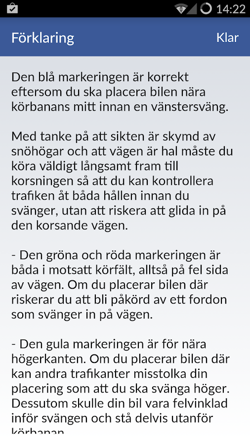 iKörkort Lite- screenshot