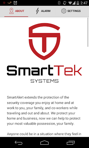 SmartAlert by SmartTek Systems