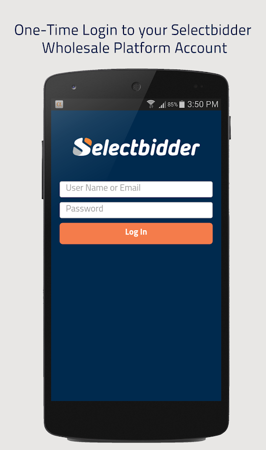 Selectbidder Trade-In App- screenshot