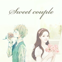 Sweet Couple Girl Go theme icon