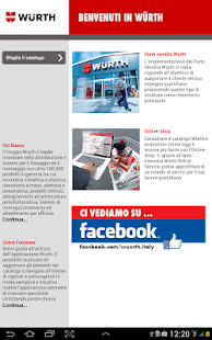 Catalogo Generale Würth Italia - screenshot thumbnail