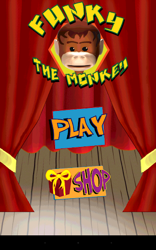 Funky Monkey 3D Circus Game