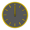 Glossy Analog Clock Widgets icon
