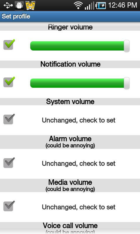 Smart Volume Profile Manager - screenshot