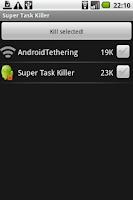 Screenshot of Super Task Killer