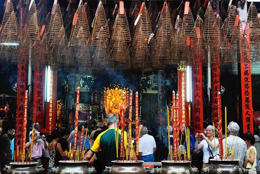 Thien-Hau-Temple-Vietnam - Thien Hau Temple in Ho Chi Minh City, the former Saigon, Vietnam.