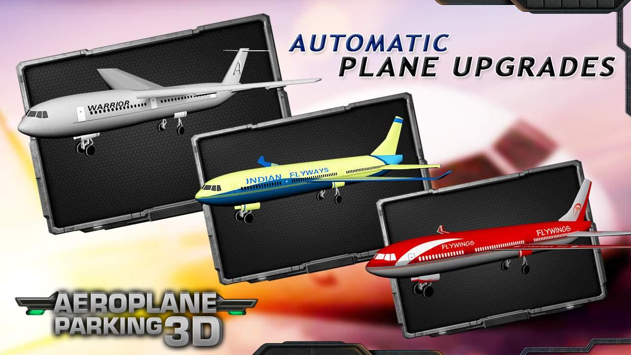 Aeroplane Parking 3D- screenshot