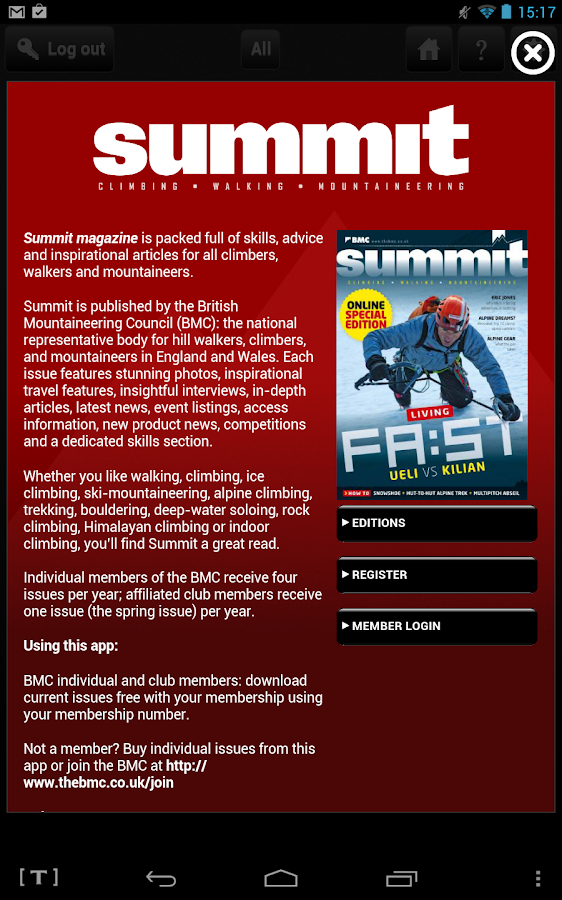Summit Magazine - screenshot