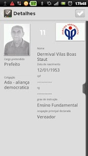 Voto Consciente- screenshot thumbnail