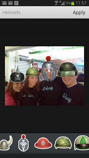 無料程式库与试用程式Appのアヴィアリー ステッカー: ヘルメット|記事Game