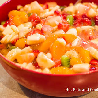Peachy Fruit Salad.