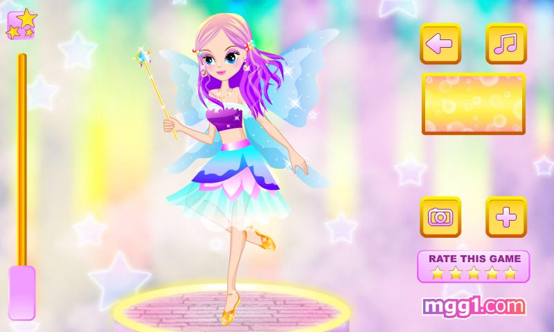 Cute Forest Fairy Dress Up - screenshot