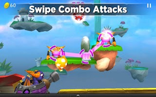 Screenshot of Skylanders Cloud Patrol