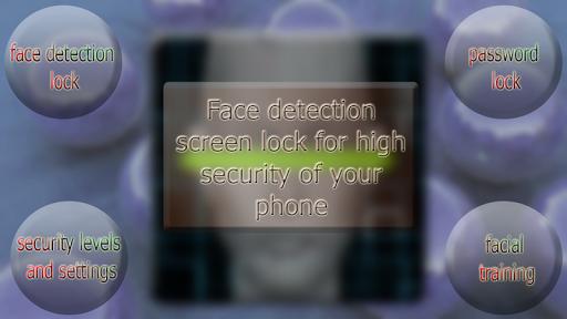 FaceRecognition screen lock
