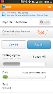 myAT&T - screenshot thumbnail
