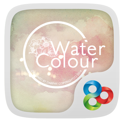 Watercolour GO Launcher Theme LOGO-APP點子