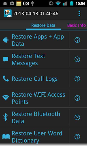 Root aplikace #1   aplikace