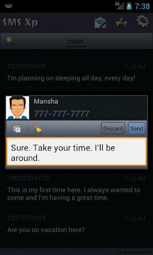 【免費通訊App】SMS Xp (Pro Tools)-APP點子