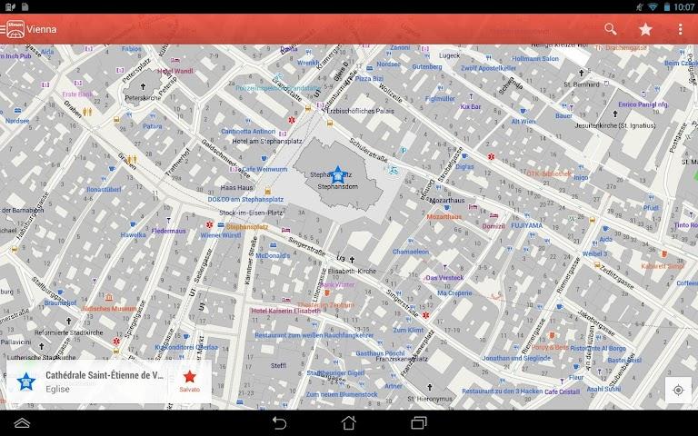 android CityMaps2Go Pro Offline-Karten Screenshot 6
