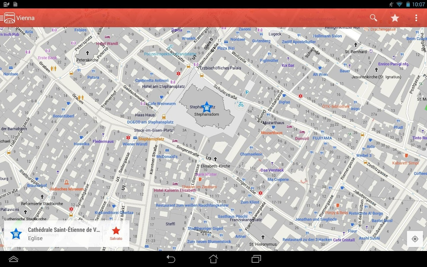 application gps hors ligne androide