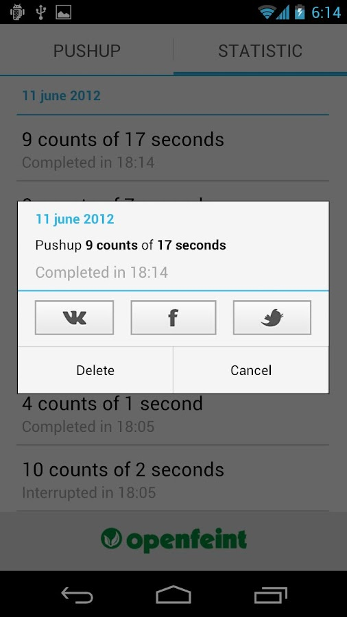 Push-ups Pro - screenshot