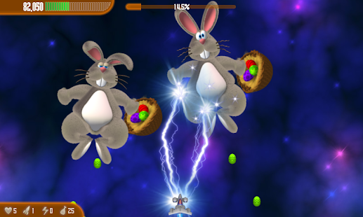Chicken Invaders 3 Easter HD- screenshot thumbnail