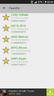 Crypto Currency Prices screenshot