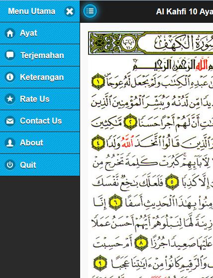 Surah Al Kahfi Android Aplikasi Appagg