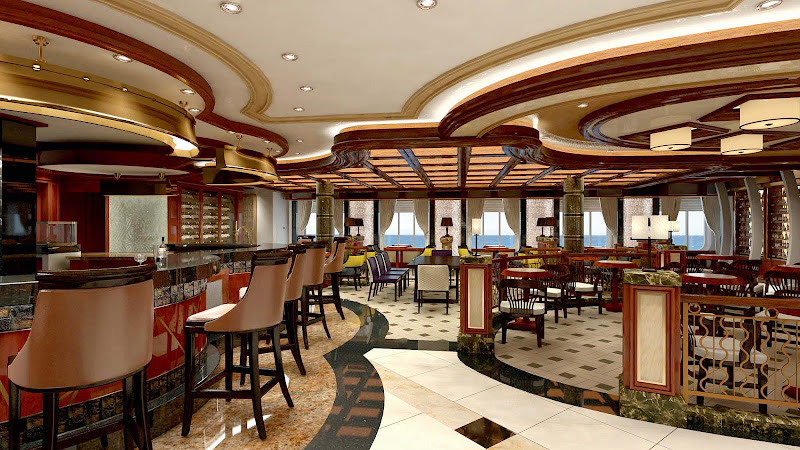 Head to the Vines Wine Bar on your Princess cruise to unwind with a glass of wine that suits your palate. It was voted one of the