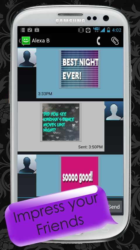 Pimp My Text Pro - Color text- screenshot