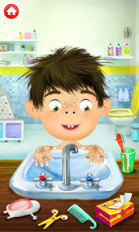 Pepi Bath Lite - screenshot