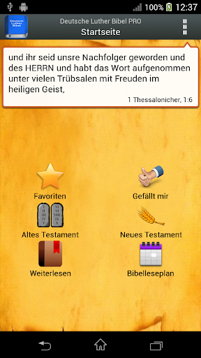 Deutsch Luther Bibel PRO